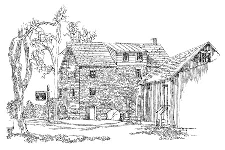 Stover-Myers Grist Mill