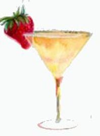 TStrawberry Martini